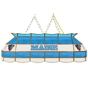 "Trademark Global® 40"" Stained Glass Tiffany Lamp, University of Maine™ NCAA"