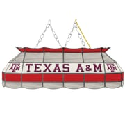 """Trademark Global® 40"""" Stained Glass Tiffany Lamp, Texas A&M® University NCAA"""