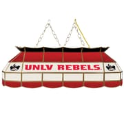 """Trademark Global® 40"""" Stained Glass Tiffany Lamp, UNLV™ NCAA"""