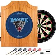 Trademark Global® Solid Pine Dart Cabinet Set, NCAA University of Maine