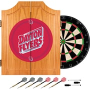 Trademark Global® Solid Pine Dart Cabinet Set, NCAA University of Dayton