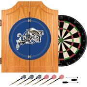 Trademark Global® Solid Pine Dart Cabinet Set, NCAA United States Naval Academy