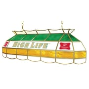 "Trademark Global® 40"" Stained Glass Lighting Fixture, Miller High Life"