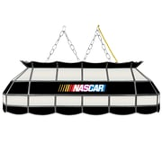 "Trademark Global® 40"" Stained Glass Tiffany Lamp, NASCAR"