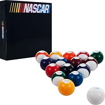 Trademark Global® Set of 16 Billiard Balls, NASCAR
