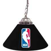 "Trademark Global® 14"" Single Shade Bar Lamp, Black, NBA"