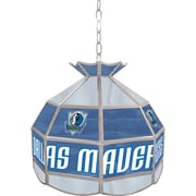 "Trademark Global® 16"" Tiffany Lamp, Dallas Mavericks NBA"