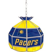 "Trademark Global® 16"" Tiffany Lamp, Indiana Pacers NBA"