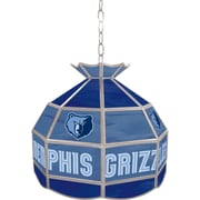 "Trademark Global® 16"" Tiffany Lamp, Memphis Grizzlies NBA"