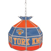 "Trademark Global® 16"" Tiffany Lamp, New York Knicks NBA"