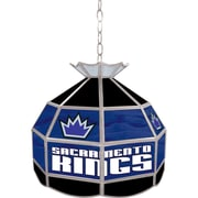 "Trademark Global® 16"" Tiffany Lamp, Sacramento Kings NBA"