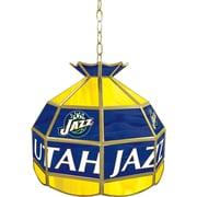 "Trademark Global® 16"" Tiffany Lamp, Utah Jazz NBA"