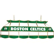 "Trademark Global® 40"" Tiffany Lamp, Boston Celtics NBA"