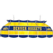 "Trademark Global® 40"" Tiffany Lamp, Denver Nuggets NBA, Yellow/Blue"