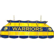 "Trademark Global® 40"" Tiffany Lamp, Golden State Warriors NBA"