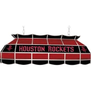"Trademark Global® 40"" Tiffany Lamp, Houston Rockets NBA, Black/Red"
