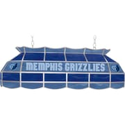 "Trademark Global® 40"" Tiffany Lamp, Memphis Grizzlies NBA, Gray/Blue"