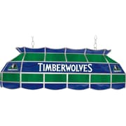 "Trademark Global® 40"" Tiffany Lamp, Minnesota Timberwolves NBA, Blue/Green"