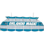 "Trademark Global® 40"" Tiffany Lamp, Orlando Magic NBA, Blue/Gray"