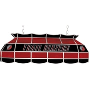 "Trademark Global® 40"" Tiffany Lamp, Portland Trail Blazers NBA, Black/Red"