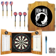Trademark Global® Solid Pine Dart Cabinet Set, POW