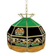 "Trademark Global® 16"" Stained Glass Tiffany Lamp, Exas Hold 'em"