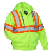 Forcefield Deluxe Safety Hoodie, Lime, 3XL
