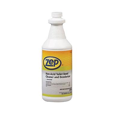 Zep Professional® Non-Acid Toilet Bowl Cleaner With Deodorizer, Fresh, 1 qt. Bottle