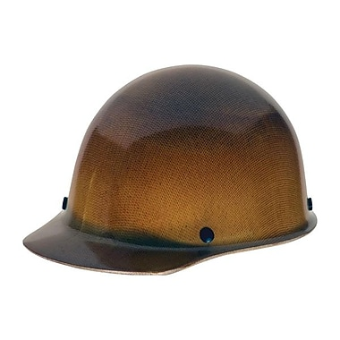 MSA Skullgard® Protective Phenolic Resin Hard Hat With Lamp, Natural Tan