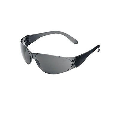 MCR Safety Checklite® Scratch-Resistant Safety Glasses, Gray Lens