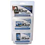 iKlear – 20 lingettes Travel Singles IK-TS20, avec chiffons