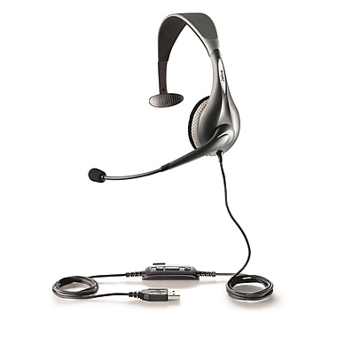 Jabra® UC Voice™ 150 Mono MS Lync Optimized Corded Headset