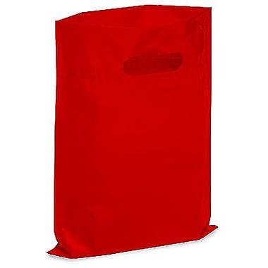 Die Cut Handle Lo-Density Poly Bag, 9