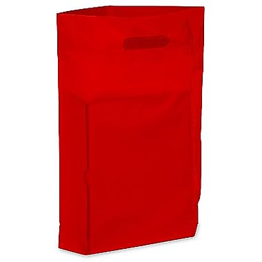 Die Cut Handle Lo-Density Poly Bag, 11