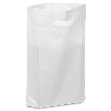 Die Cut Handle Lo-Density Poly Bag, 11