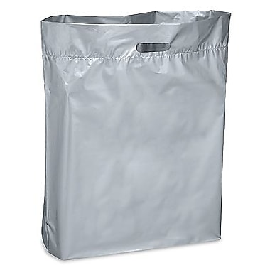 Die Cut Handle Lo-Density Poly Bag, 20