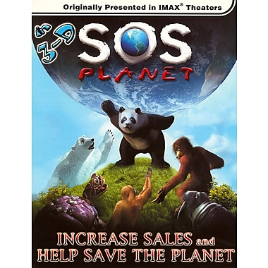 SOS Planet (2D & 3D) (IMAX) (DVD)