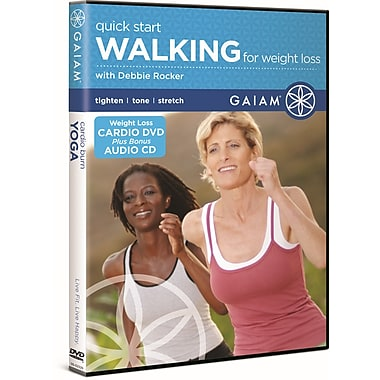 Quick Start Walking for Weight Loss DVD with Debbie Rocker (DVD)