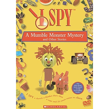 I Spy: Volume 1: A Mumble Monster Mystery and other stories (DVD)