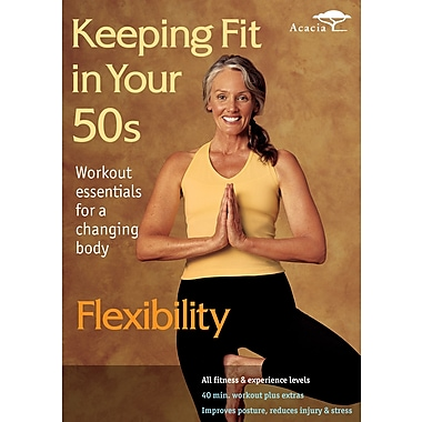 Keeping It Fit In Your 50s: Flexibility (Acacia) (DVD)