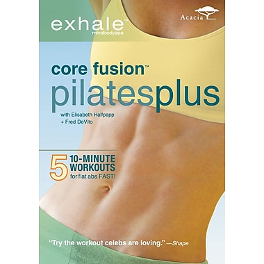 Exhale - Core Fusion - Pilates Plus (Acacia) (DVD)