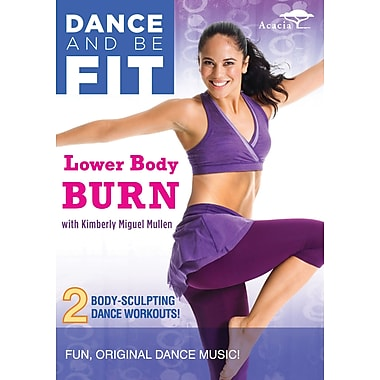 Dance and Be Fit: Lower Body Burn w/ Kimberly Miguel Mullen (Acacia) (DVD)