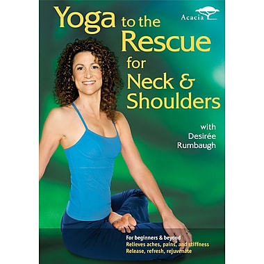 Yoga to the Rescue For Neck & Shoulders w/Desirée Rumbaugh (Acacia) (DVD)