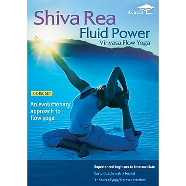 Shiva Rea - Fluid Power Vinyasa Flow Yoga (Acacia) (DVD)