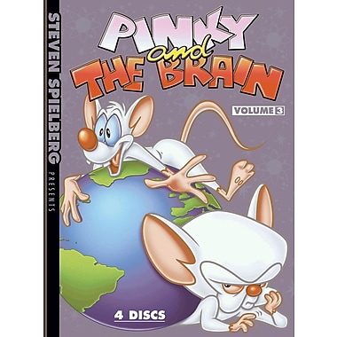 Pinky and the Brain: Volume 3 (DVD)
