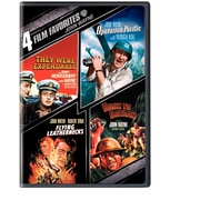 4 Film Favourites: John Wayne War (DVD)
