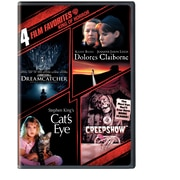 4 Film Favourites: Stephen King (DVD)