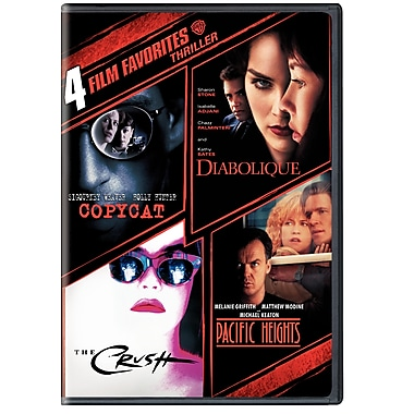 4 Film Favourites: Thrillers (DVD)