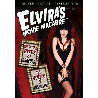Elvira's Movie Macabre: The Satanic Rites of Dracula/The Werewolf of Washington (DVD)