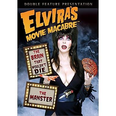 Elvira's Movie Macabre: The Brain That Wouldn't Die/The Manster (DVD)